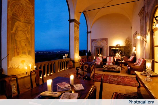 Luxury Tuscan Villa Hotel in Chianti near Florence